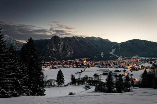Oberammergau - Winternacht