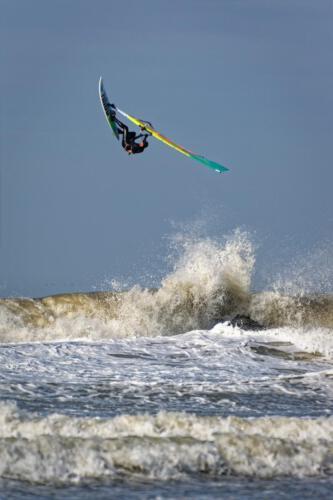 Windsurfen-Backloop