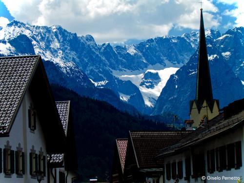 Partenkirchen mit Wetterstein