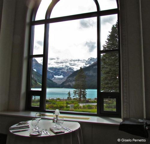 Blick auf den Lake Louise - Kanada