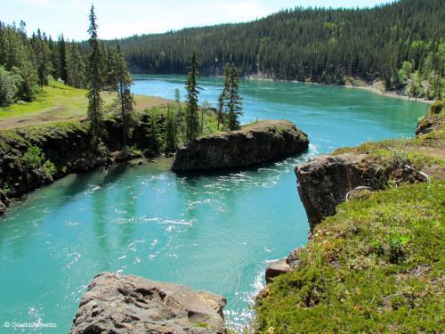 Yokon River bei Dawson-City Kanada