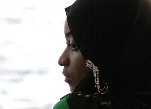 Dr. Bertram Georgii: Sansibar - Muslima