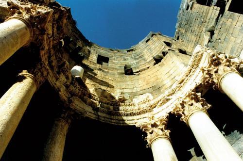 Roemerarchitektur Bosra Syrien