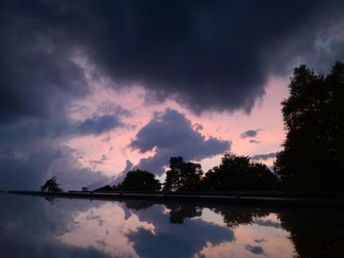 Ammergauer Sonnenuntergang