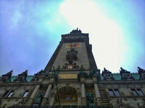 Rathaus von Hamburg